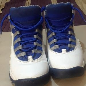 Air Jordan  10 Retrol txt old royal  blue stealth